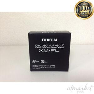 Neue-FUJIFILM-Filter-Objektiv-XM-FL-S-Silber-Original-aus-Japan