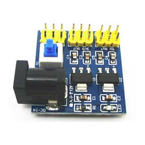 DC-DC 12V To 3.3V 5V Buck Step-down Power Supply Module For Accessories#