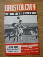09/04/1971 Bristol City v Luton Town  (No Apparent Faults)