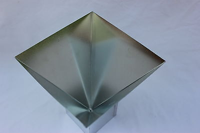 """6"""" x 6"""" Four Sided PYRAMID for ORGONE Casting, Metal Mold     NEW"""