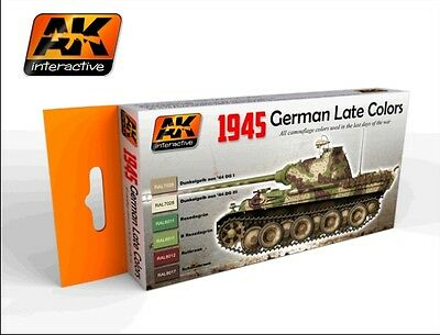 Ak Interactive AKI 554- 1945 German Late War Colors Set