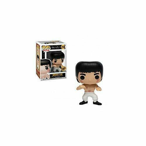 Movies Funko Pop Bruce Lee-Pantalon blanc saisir le dragon Vinyl Figure #218