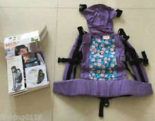 NEW NIB Beco Butterfly II 2 Baby Carrier Purple
