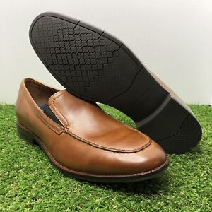 attractive & durable 2019 authentic cheap for sale Details about COLE HAAN Aerocraft Grand Venetian Brit Tan Leather Loafer  Shoes C29054 Men's 11