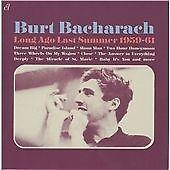 Burt Bacharach - Long Ago Last Summer 1959-61 (2012)  CD  NEW/SEALED  SPEEDYPOST