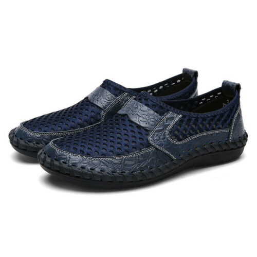 Mens Casual Quick Drying Water Shoes Mesh Breathe Slip On Beach Walking Shoes