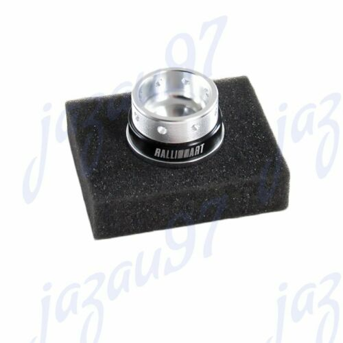 Silver Ralliart Racing Engine Oil Cap Oil Fuel Filler Cover Cap For Mitsubishi