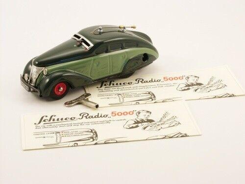 Schuco auto radio 5000 dos Coloreeees verde