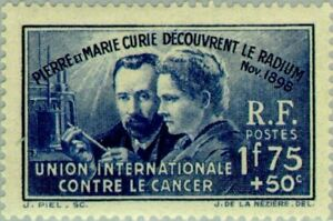 EBS-France-1938-Discovery-of-Radium-Pierre-amp-Marie-Curie-YT-402-MNH-cv-43