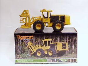 Tigercat-724G-Wheel-Feller-Buncher-1-32-Brand-New-Diecast-Logging