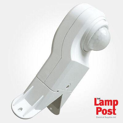 Eterna EX360PIRWH Corner Mounted White PIR Detector External 360° Motion Sensor