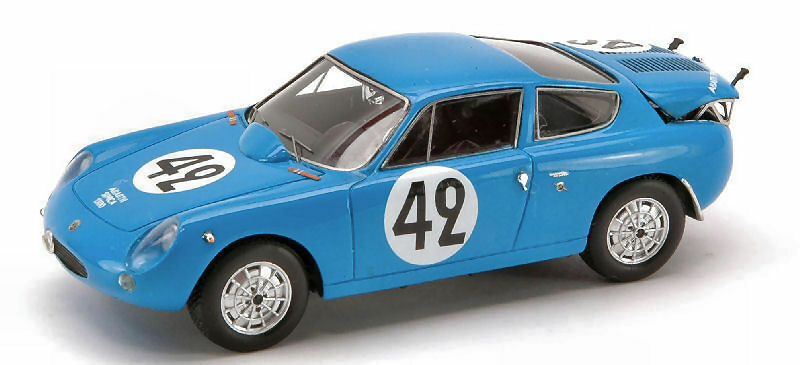 ABARTH SIMCA 1300  42 Le Mans 1962 1:43 MODEL s1306 SPARK MODEL