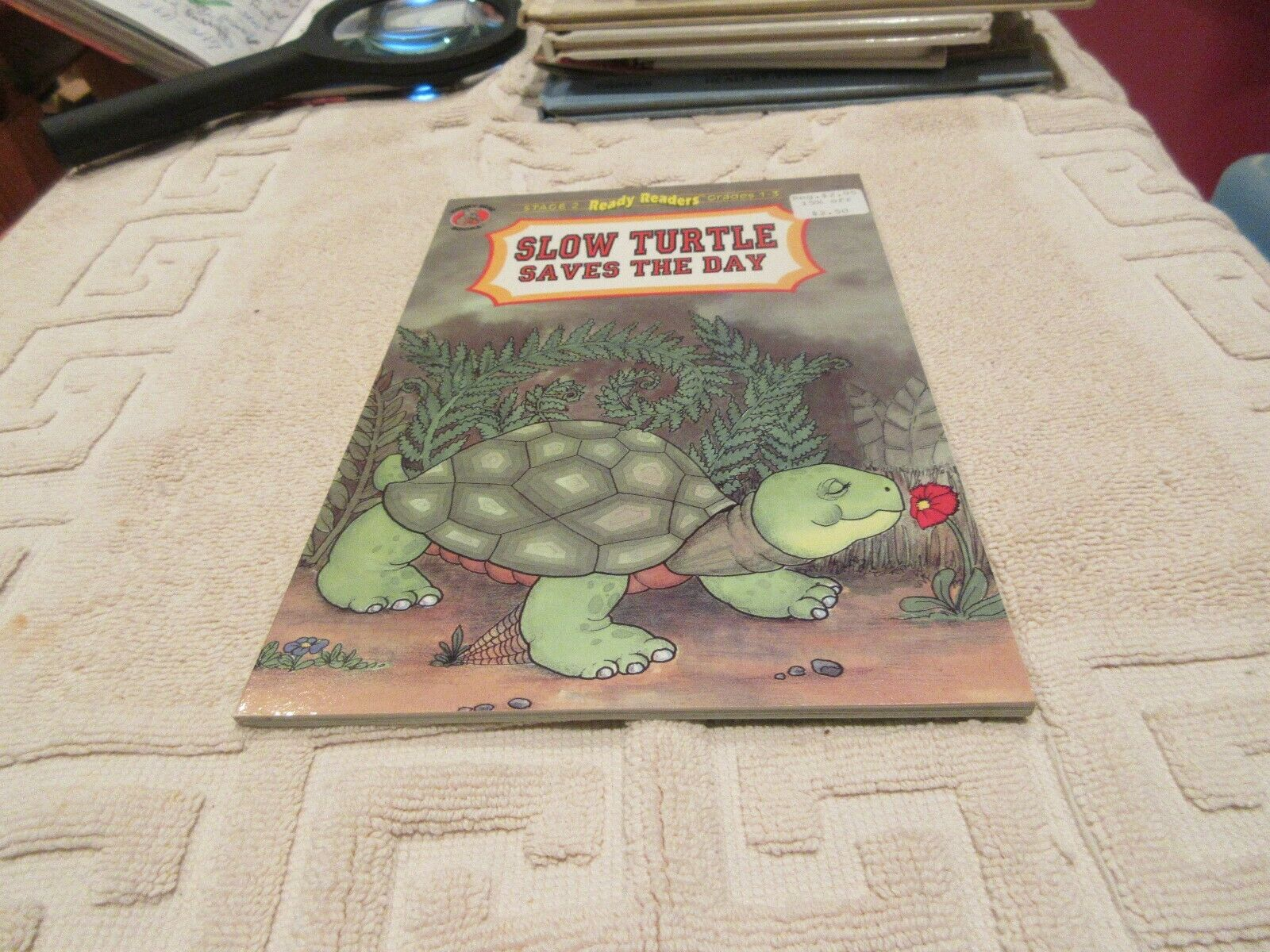 SLOW TURTLE SAVES DAY (HONEY BEAR BOOKS) By Agatha Brow