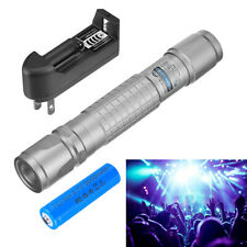 900miles 532nm Blue Laser Pointer Star Beam Rechargeable Lazer Battery Charger