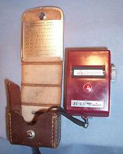 Walz EV LV Polaroid Photo Picture Camera Aperature Setting Light Exposure Meter