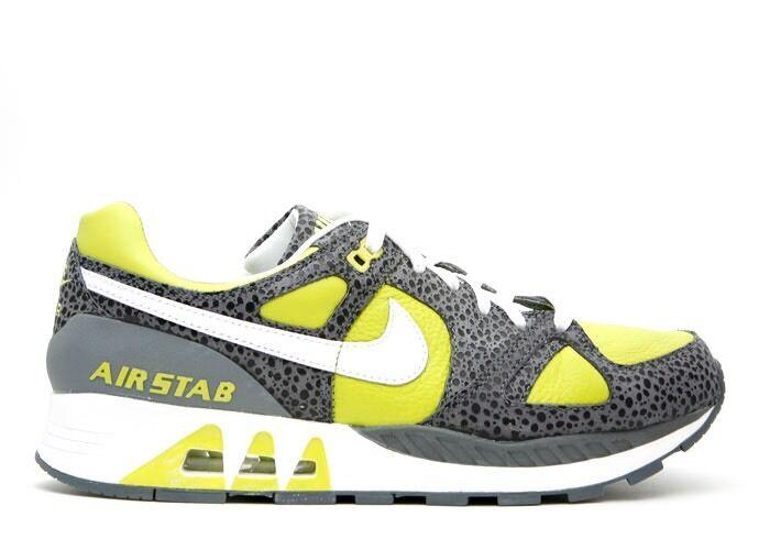 Nike Air Stab Cactus Safari 316402 311 8.5 green gray white NEW NWT Dead stock