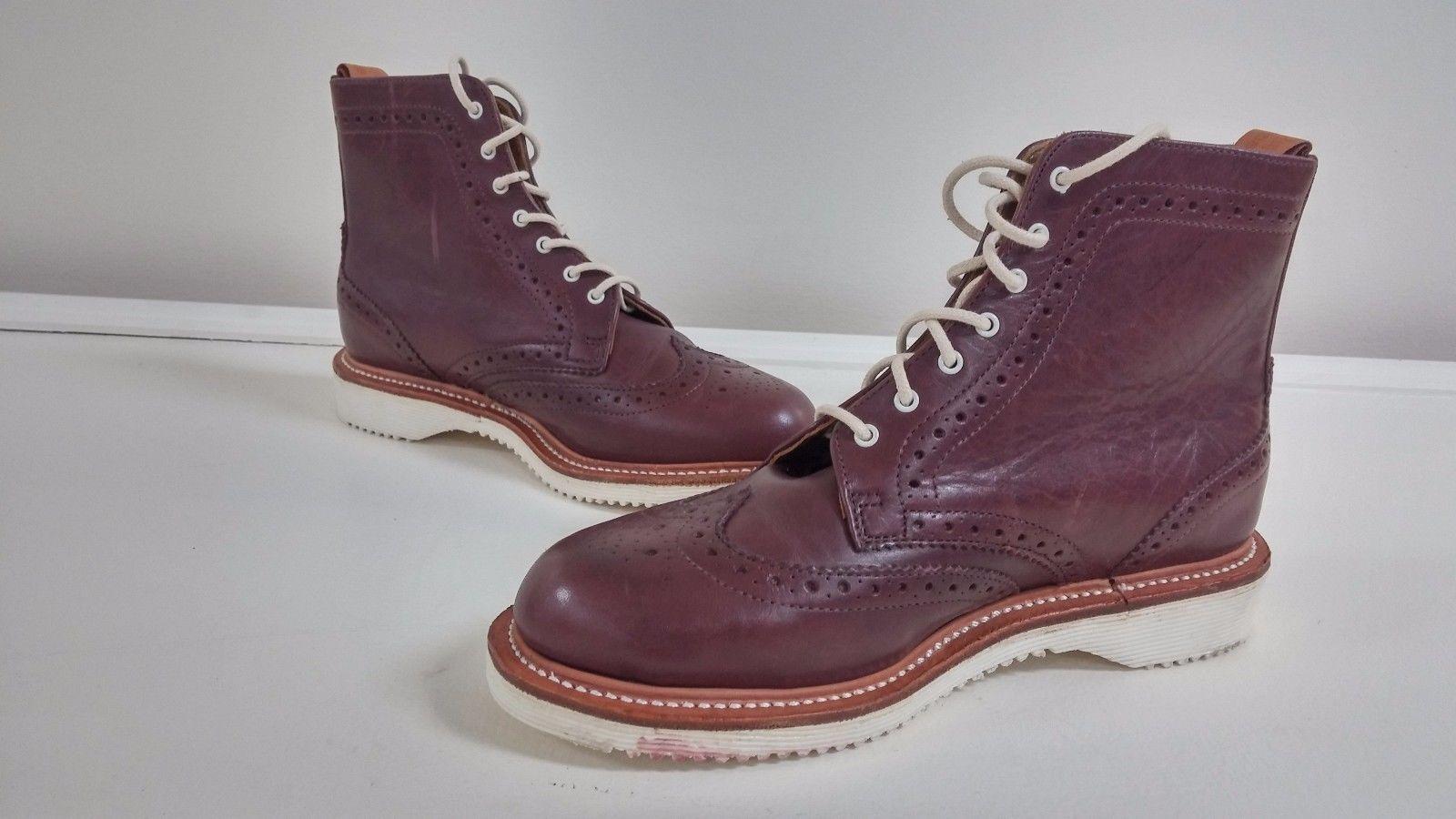 Nuevo Para Mujeres Dr Marten Bently Brogue Marrón Tobillo botas De Vestir Talla L5 109M