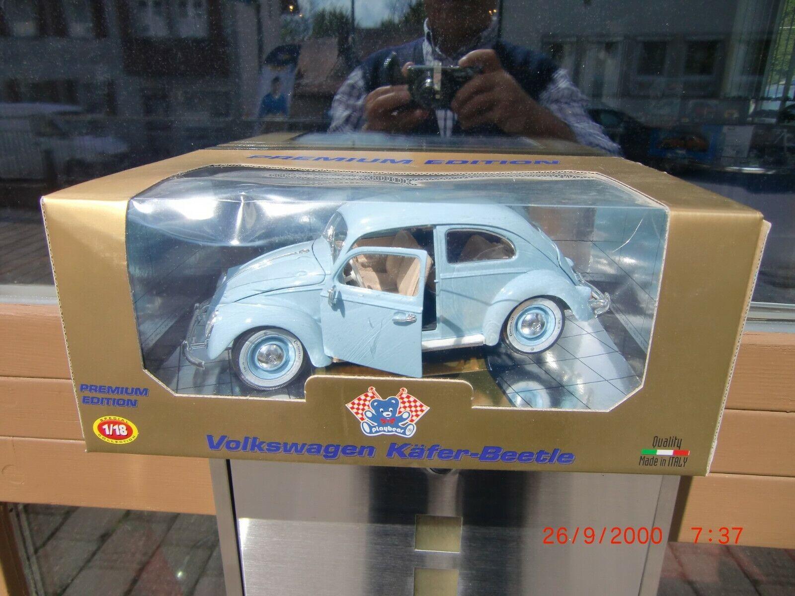 Bburago  Volkswagen Käfer- Beetle 1 18 Premium Edition Oldtimer mit OVP