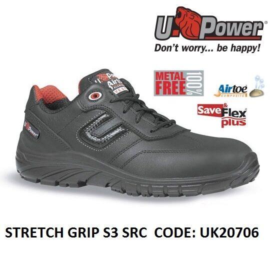 prodotto di qualità Upower Scarpa da lavoro antinfortunistica STRETCH STRETCH STRETCH GRIP S3 SRC U-POWER UK20706  alto sconto