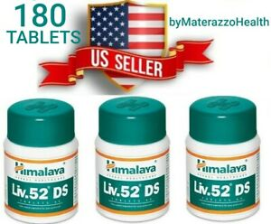 LIV-52-DS-3X-Bottles-Himalaya-Liver-Repair-Dyspepsia-Cold-Stomach-problems-USA