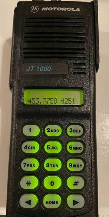 Motorola JT1000---- FIRST FPP RADIO BY MOTOROLA-- A TRUE WORKING COLLECTORS ITEM. Available Now for 250.00