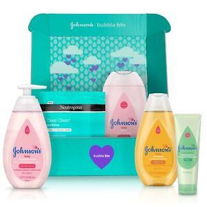 Johnson-039-s-baby-gift-set-Shampoo-Wash-Lotion-amp-Neutrogena-Mask