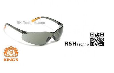 Sonnenbrille Kings Eurospec Radsport-Brille UV Schutz getönt und verspiegelt