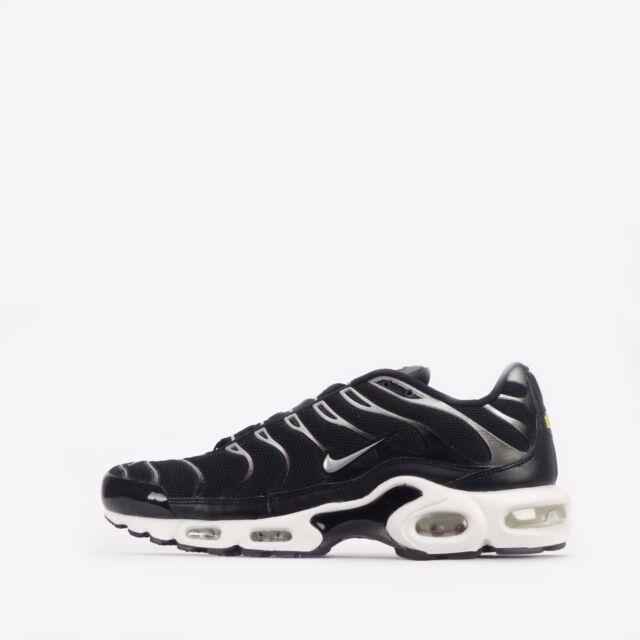Nike Air Max Plus Premium TN Tuned Men's Shoes in Black/Metallic Silver