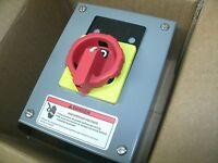Square D 9421 V1a30x11 9421v1a30x11 Manual Motor Starter Load Break Switch