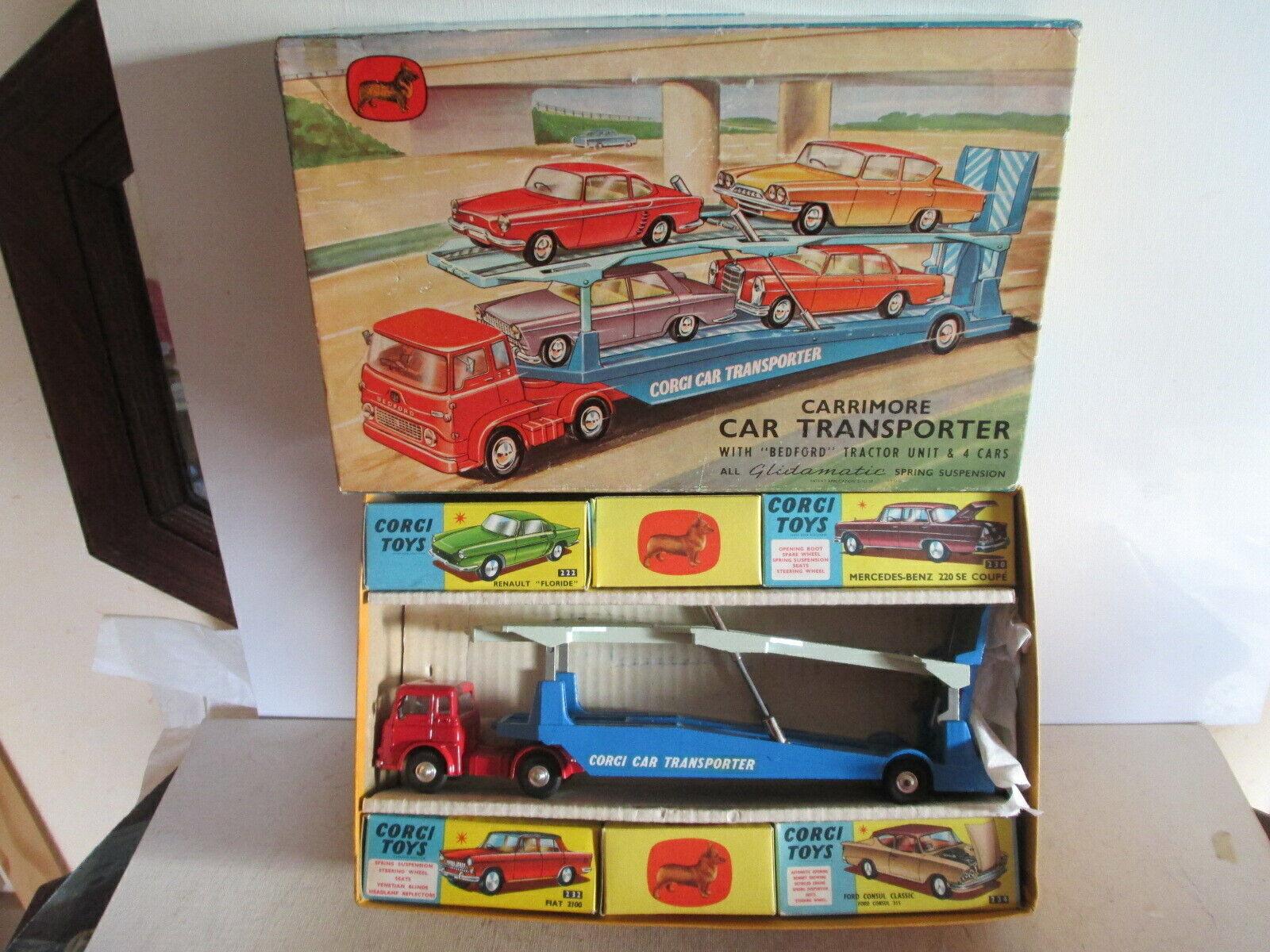 CORGI GIFT SET 28 GS28 BEDFORD TK auto TRANSPORTER COFFRET CADEAU 28 SO NICE L@@K