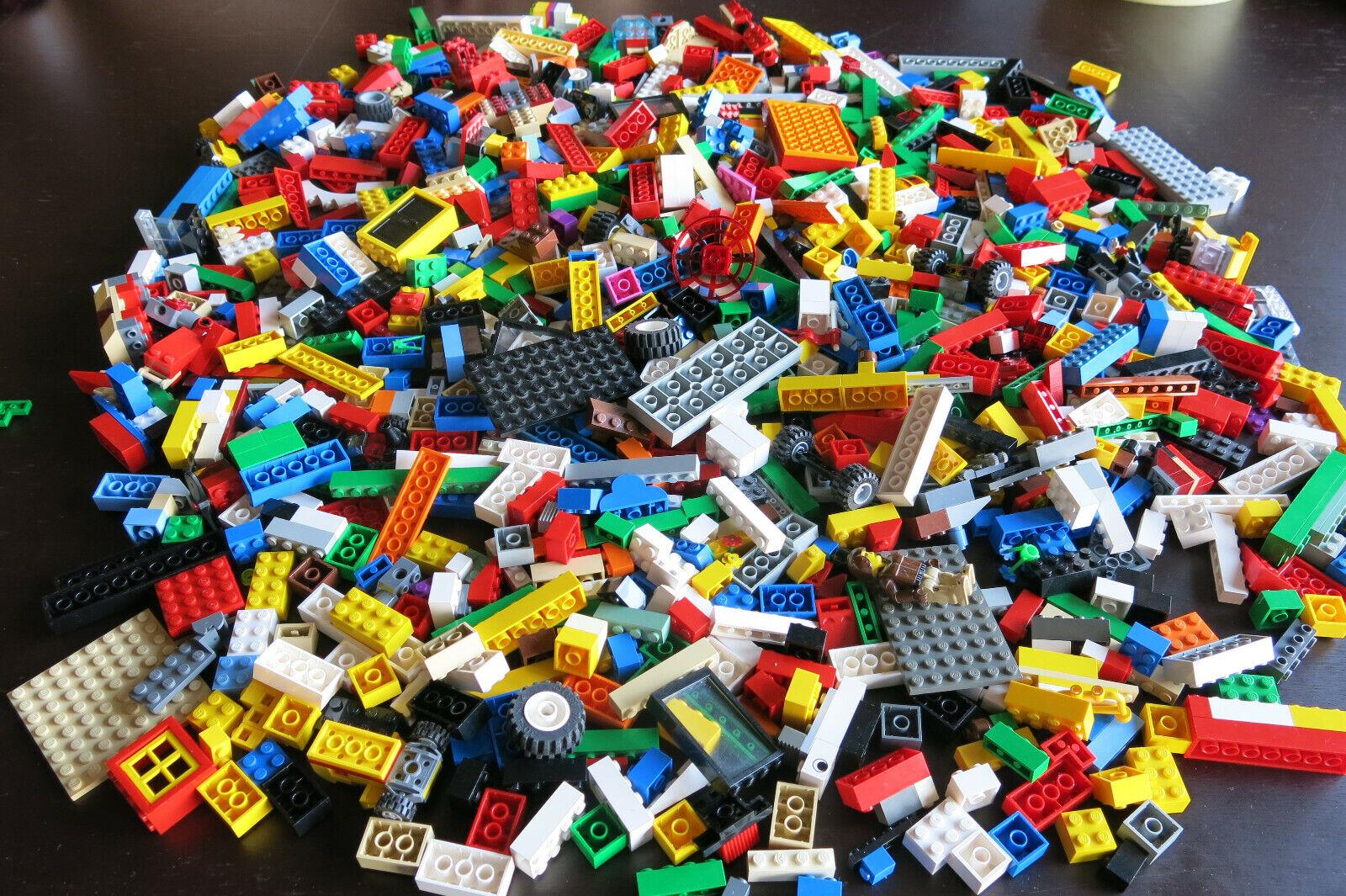 Lego Konvolut viele gemischte Teile ca. 2,5kg hauptsächlich Steine