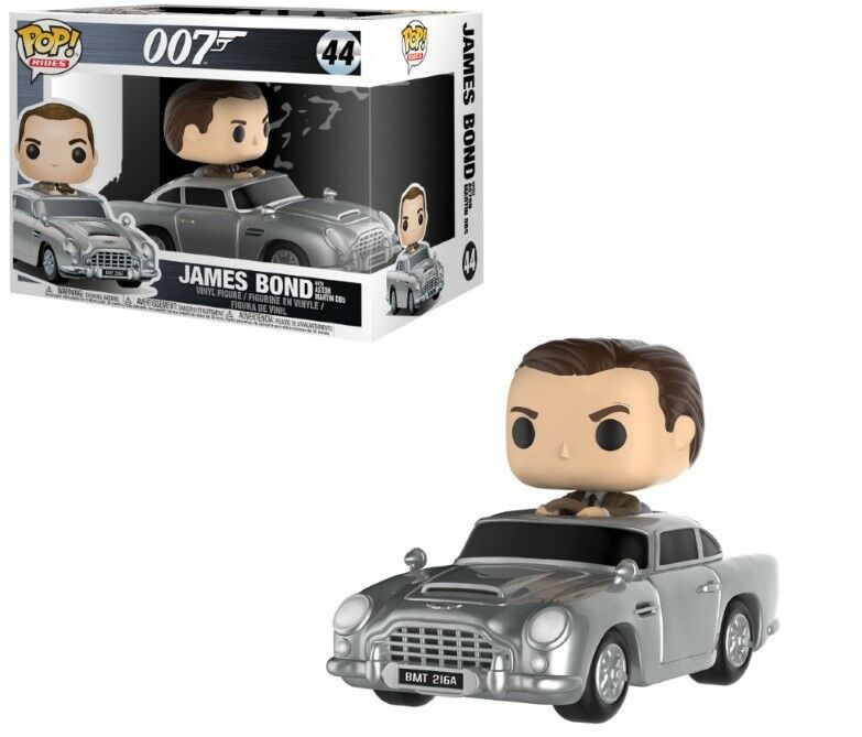 FIGURINE FUNKO POP James Bond Pop Rides Aston Martin & & & Sean Connery 361a7d