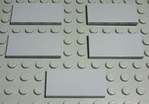 Lego Carreau-Tuile 2x4 New Gris 5 Pièce 747 #