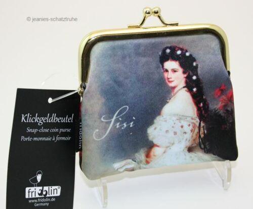 Portemonnaie Geldbörse Sissi österreichische Kasiserin Klick-Geldbeutel