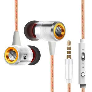Extra-Bass-In-Ear-Kopfhoerer-amp-In-Ear-Stereo-Sport-Ohrhoerer-Earphones-Weiss