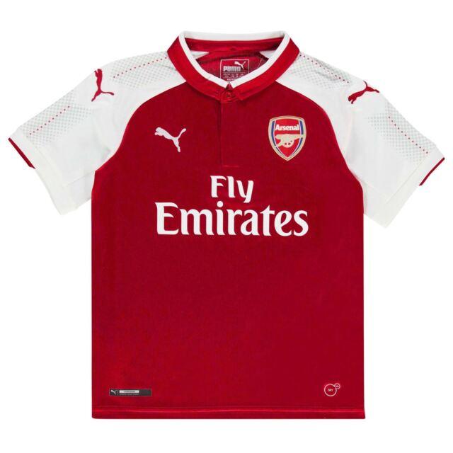 dd6698f3240 Puma Arsenal Home Shirt 2017 2018 Junior 13-14 years RRP £49.99 (Genuine