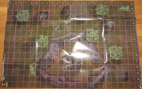 BATTLEFIELD/MINES OF MORIA LOTR Lord of the Rings HeroClix MAP Wizkids