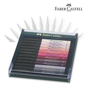 Pitt-Artist-Pen-12er-Set-Hautfarben-Faber-Castell-267424