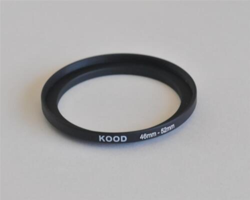 STEP UP ADAPTER 46MM-52MM STEPPING RING 46 TO 52MM 46-52 STEP UP RING