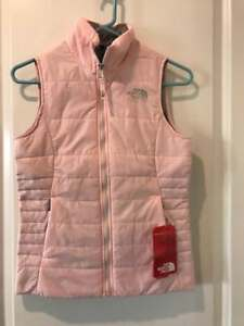 390d577ed Details about The North Face Girls Harway Insulated Vest NWT Purdy Pink  MSRP: $70.00