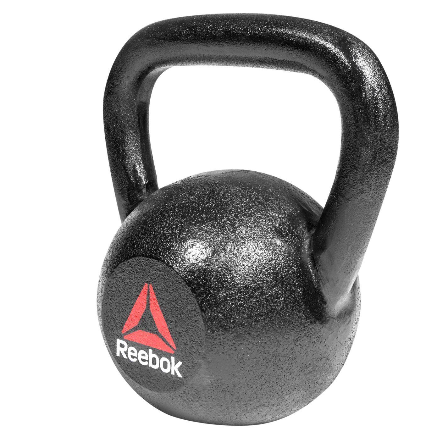 Reebok 24kg Cast Iron Kettlebell Fitness Gym Training Weightlifting Weightlifting Weightlifting Bodybuilding 68664f