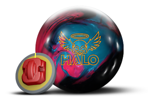 redo Grip Halo Pearl 15 lb bowling ball with 3.5-4  pin