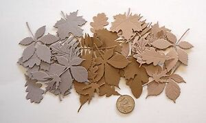 SCRAPBOOKING-NO-439-30-DIE-CUT-LEAVES-3-SHADES-PER-PACK-MADE-FROM-CARD-STOCK
