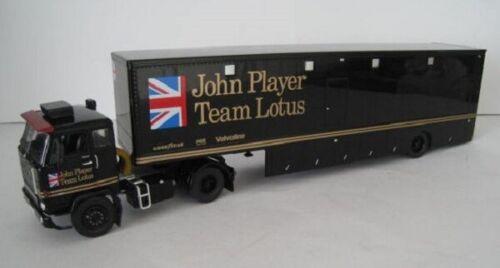Volvo F88 Renntransporter John Player Team Lotus  IXO TTR017  1:43  OVP  NEU