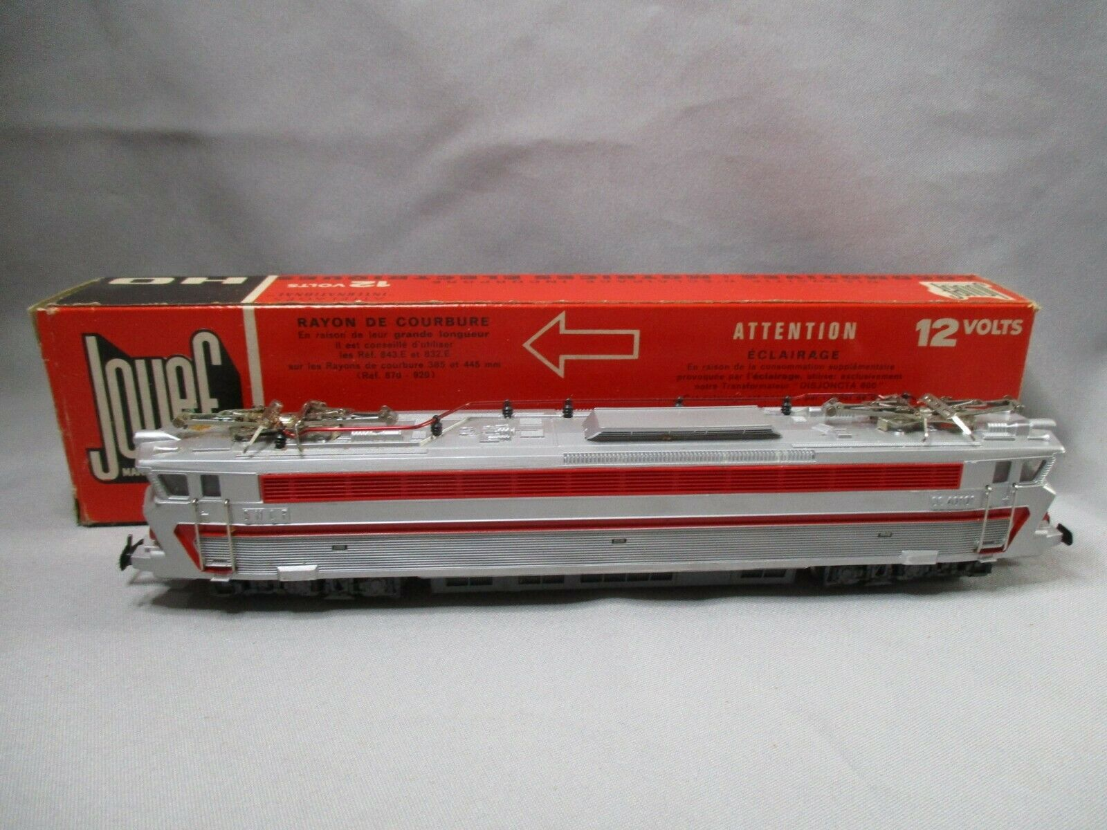 Ak433 jouef oh locomotive electrique tee cc 40.101 ref. 833e good condition