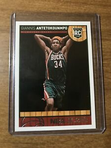 2013 NBA Hoops Giannis Antetokounmpo Rookie Card #275 Bucks RC MVP INVEST