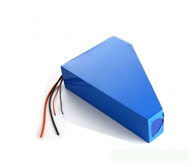 24V 30ah Li-ion Rechargeable Ebike Triangle Battery Pack & Charger NEW