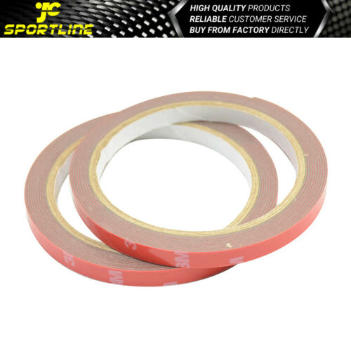 2x Rolls Acrylic Foam 3M Double Sided Tape Strong Stickiness For Car Auto Truck