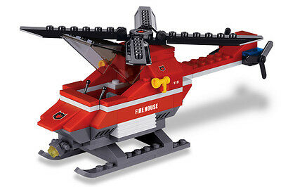 Star Diamond #80312 112 Pcs PD-6 Police Helicopter Building Block Brick Toy
