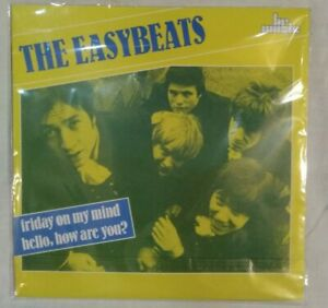 THE-EASYBEATS-Unplayed-7-034-1989-Friday-on-my-mind-Hello-how-br-music-45300